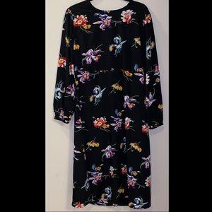 ASOS Curve Floral Midi Dress